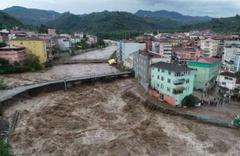 Samsun'da sel felaketi! 2 kişi öldü kayıp vatandaşlar var