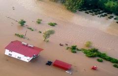 Samsun'da aşırı yağışlarda mahsur kalan 17 kişi ile ilgili flaş haber