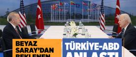Beyaz Saray'dan flaş Türkiye açıklaması