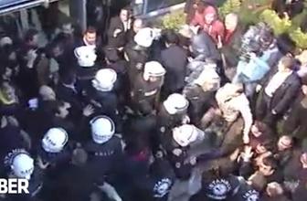 Polis İpek Medya binasına zorla girdi