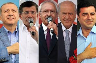 Liderler oylarını kullandı! İşte seçim mesajları