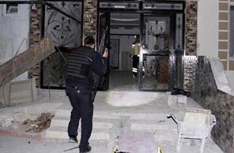 IŞİD hücre evinde patlama yaralı polisler var