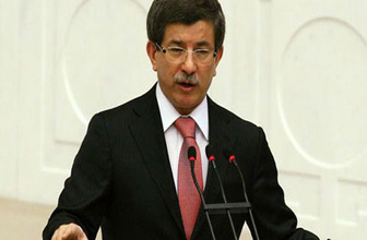 Başbakan Ahmet Davutoğlu TBMM'de yemin etti