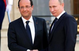 Putin ve Hollande IŞİD ile savaşta anlaştı