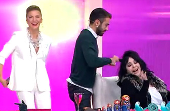 Kemal Doğulu, Nur Yerlitaş'ın saçlarını yaparsa...