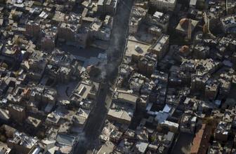 Sur'daki PKK operasyonu havadan görüntülendi!