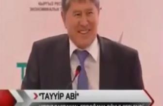 Kırgızistan Cumhurbaşkanı Atambayev 'Tayyip Abi borcumuzu sil'