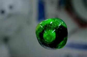 NASA çekti! Su damlasının uzay dansı