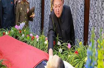Gaddar diktatör Kim Jong ilk kez ağladı!