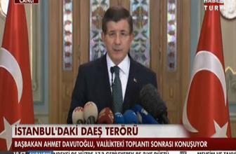 Başbakan Davutoğlu: İstanbul'da her türlü tedbiri alacağız