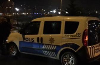 Beşiktaş'ta polis şüpheli bir kişi vurdu