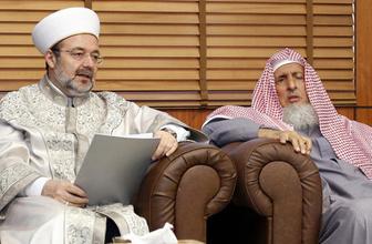Arabistan'a giden Görmez'den kritik açıklamalar