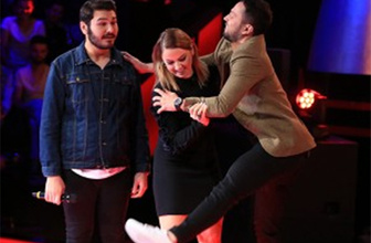 Murat Boz'u zor tuttular: Bir anda sahneye fırladı!