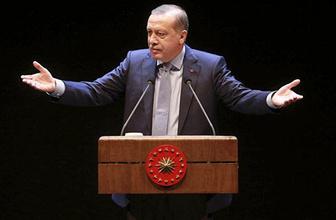 Erdoğan: Artık onu da söyleyemiyorum!