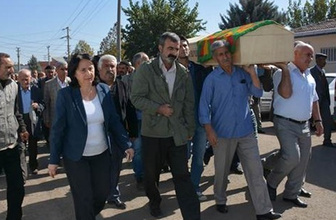 HDP'li vekile cenaze soruşturması!