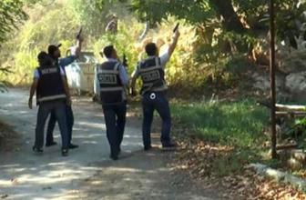 Polis ormanlık alanda böyle bastı!