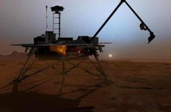 Mars'a çakılan uzay aracının ilk fotoğrafı