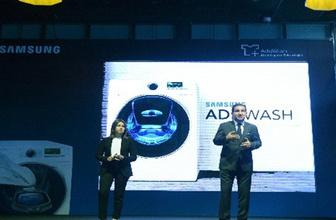 Samsung'dan akıllı kapak teknolojili çamaşır makinesi!