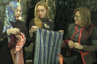 Lindsay Lohan, Gaziantep'e hayran kaldı
