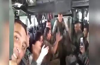Oyun havasıyla operasyona giden askerler sosyal medyayı salladı