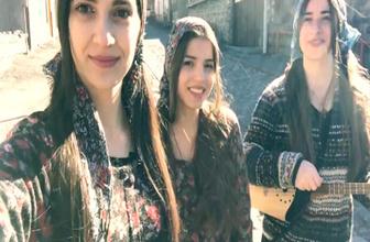 Gürcü kızlar sosyal medyayı salladı