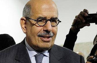 El Baradey'den 'tehdit edildim' açıklaması
