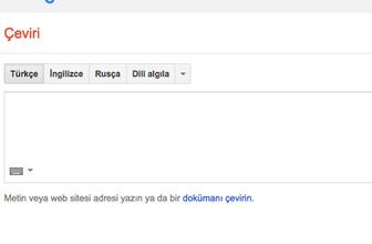 Saçmalayan Google translate için devrim gibi adım