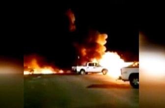 Alev alev yandı 4 kişi öldü feci kaza!