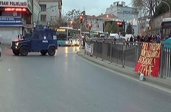 Okmeydanı'nda şüpheli paket! Cadde çift taraflı trafiğe kapatıldı