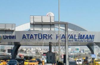 Atatürk Havalimanı'nda korkutan kaza!