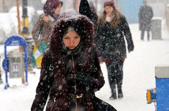 Saat verildi İstanbul hava durumu çok fena kar geliyor