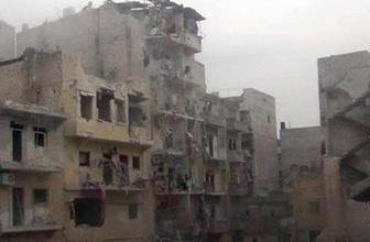 İşte taş üstünde taş bırakılmamış Halep!
