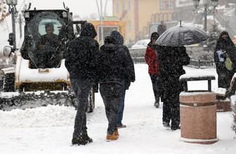 Van'da okullar tatil mi son hava durumu