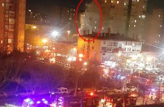 İstanbul'da patlama saniye saniye görüntülendi!