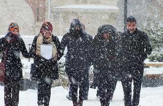 Yozgat hava durumu kar devam edecek
