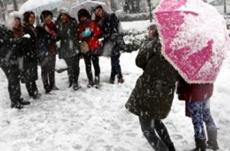 Giresun'da okullar tatil kar yağışı artacak