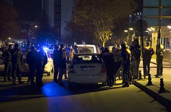 ABD Ankara Büyükelçiliği önünde silah sesleri