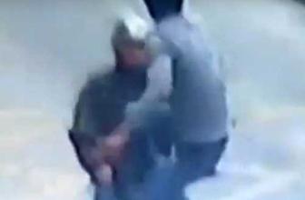 Karateci kamyon şoförü motosikletteki hırsıza böyle uçtu