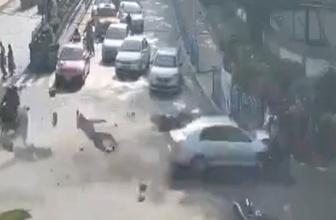 Otomobil biçti geçti!
