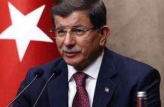 Başbakan Davutoğlu'ndan YPG açıklaması