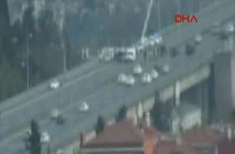 Boğaziçi köprüsü'nde bomba alarmı trafik durdu!