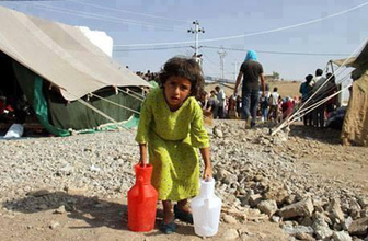 Dikili'de mülteci kampı kavgası!