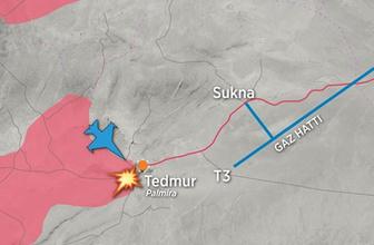 Suriye savaş haritası Esad ve IŞİD'in yeni hedefi