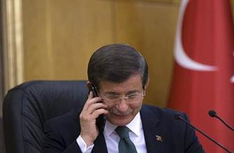 Davutoğlu'ndan canlı yayında en zor telefon