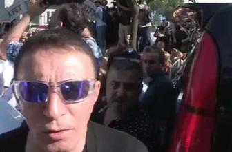 Oya Aydoğan'ın cenazesinde 'mutluyum' deyince...