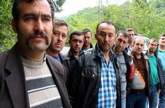 Zonguldak'ta maden işçilerinin eylemi 9'uncu gününde
