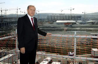 Erdoğan'dan 3. Havalimanı pozu!