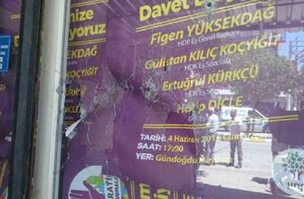 HDP binasına silah sıkan şahıs bakın kim çıktı!