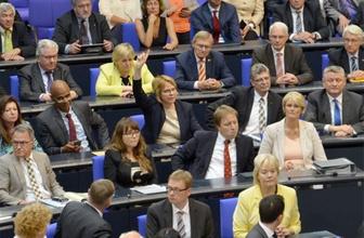 Almanya'da oylamada hayır oyu veren tek vekil!