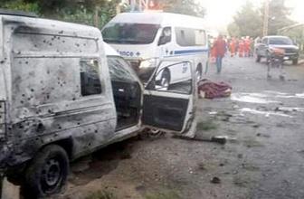 Suriye sınırında peş peşe intihar saldırısı!